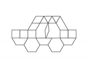 vehicles pattern block cards (4)