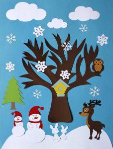winter tree crafts (2)
