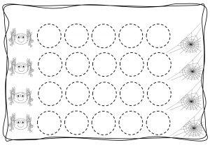 Circles tracing worksheets for kids (10)