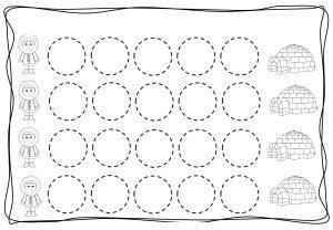 Circles tracing worksheets for kids (11)