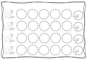 Circles tracing worksheets for kids (2)