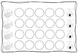Circles tracing worksheets for kids (3)