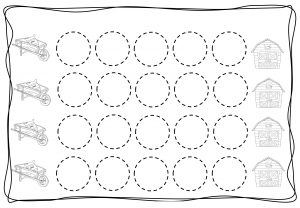 Circles tracing worksheets for kids (6)