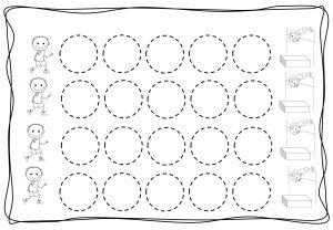 Circles tracing worksheets for kids (7)
