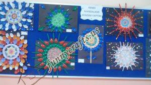 Plastic spoon mandala crafts (2)