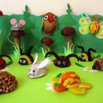Walnut shell craft idea for kids