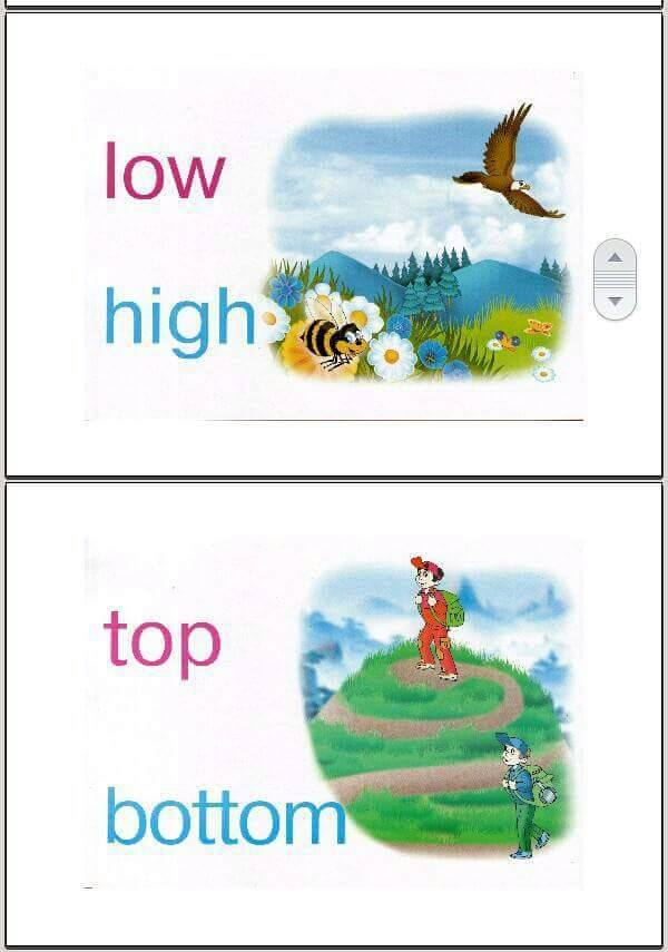 adjectives flashcards opposites