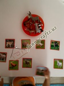 animal figures  picture matching games