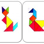 Animals tangrams printables