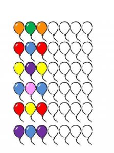 ballon pattern sheets