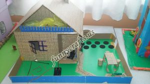 cardboard home projects for school (5)