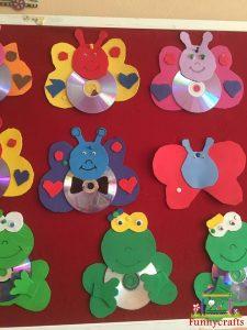 cd craft bulletin board  (3)