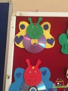cd craft bulletin board  (5)