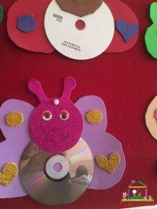 cd craft bulletin board (9)
