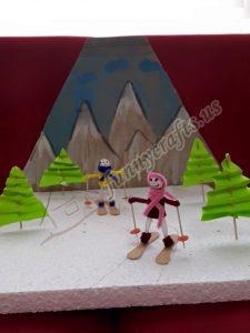 chenille snowboarder