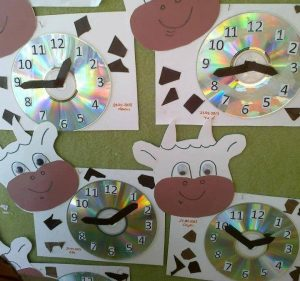 clock cd craft ideas