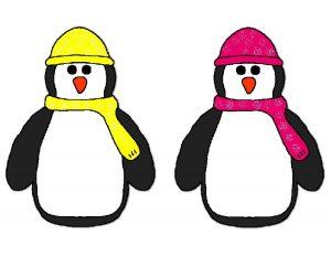 colorful penguins for kids