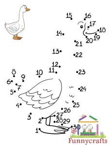 duck dot to dots sheet