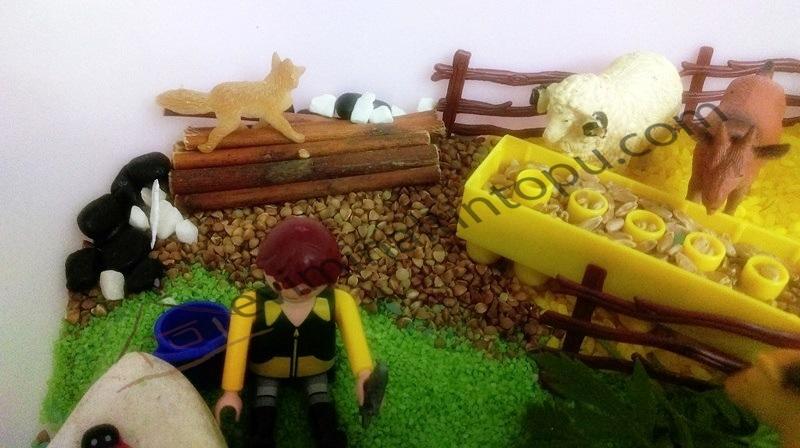farm sensory bins & hands on play activities for kids