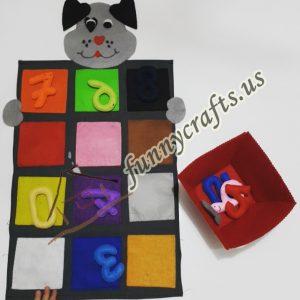 felt number activities for kids