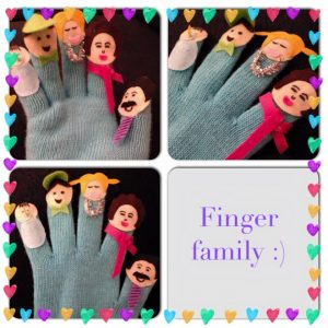 finger family amazing what you can do with an old pair of gloves