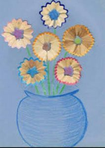 flowers pencil sharpener craft and arts