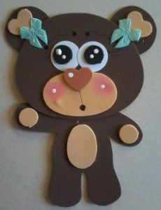 foam bear craft