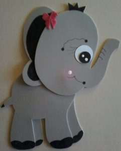 foam elephant craft
