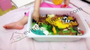 fun farm sensory bin ideas for kids