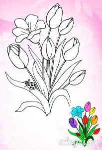 fun flower coloring pages for kids (4)