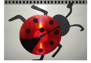 ladybug cd craft ideas