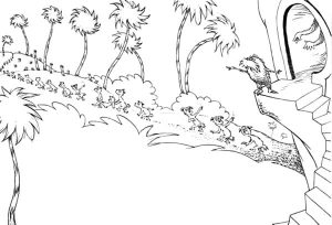 lorax truffula coloring pages (3)