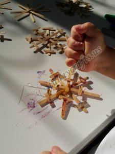 make a snowflake craft ıdeas to make snowflakes