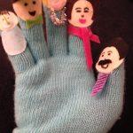 Finger family gloves