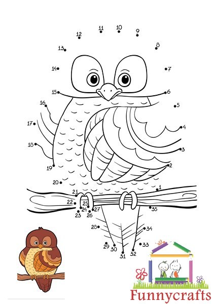Math And Science Classroom Decorations ~ Owl dot to dots sheet « preschool and homeschool