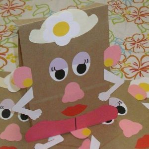 paper bag recycled craft