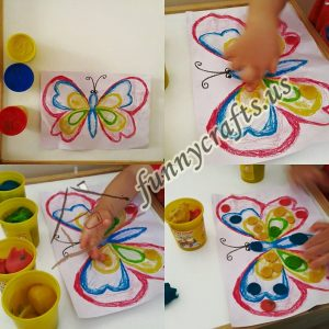 play dough butterfly activities for toddlers