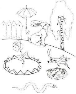 preschool writing patterns