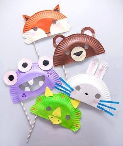 recycled paper plate animals crafts (1)