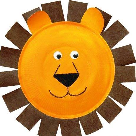 lion craft ideas recycled paper plate animals crafts 2 171 preschool and 2350