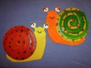 recycled paper plate animals crafts (5)