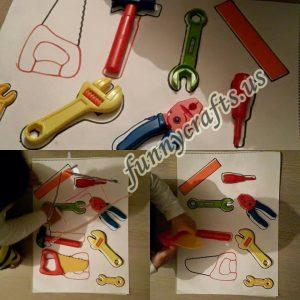 repair tools activities for todlers