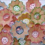 Pencil sharpener craft for kids