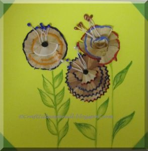 spring flowers pencil sharpener craft (5)