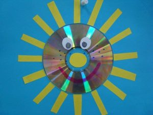 sun cd craft ideas