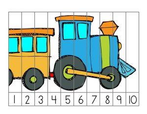 train alphabet puzzle