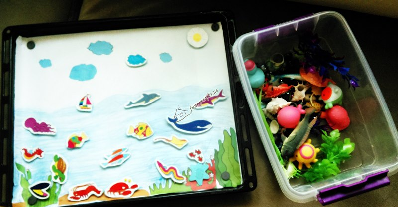 aquarium themed activity