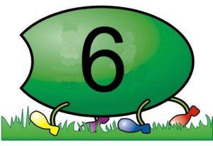 caterpillar number  cards (12)