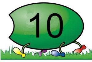 caterpillar number  cards (4)