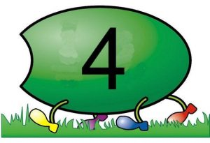 caterpillar number  cards (5)